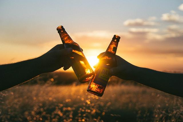 飲酒の画像