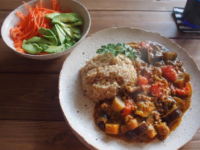 玄米カレーの画像