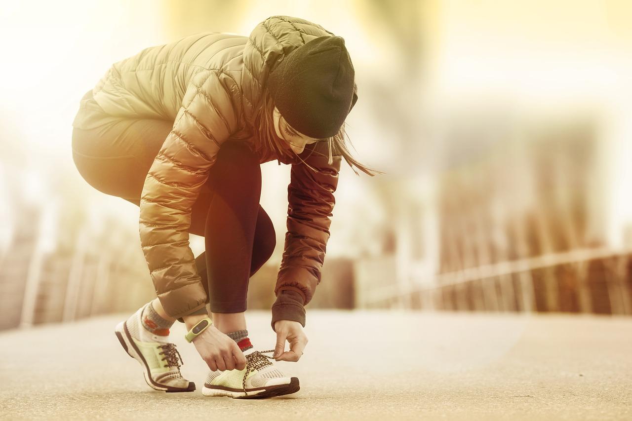 若返りに効果的な運動と呼吸の画像