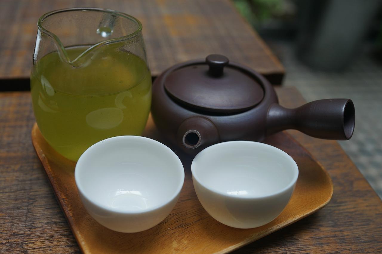 健康をサポートするお茶の画像