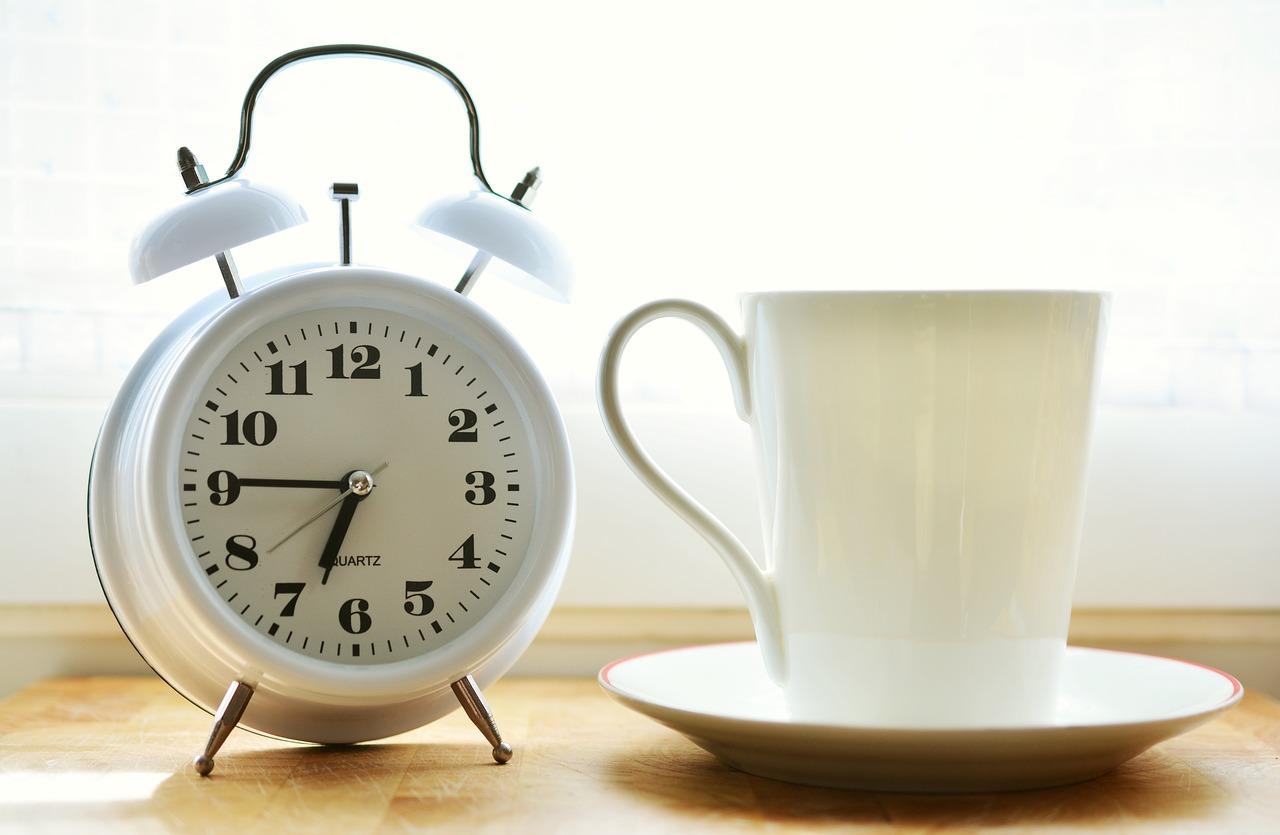 運動と食事・時間の使い方の画像