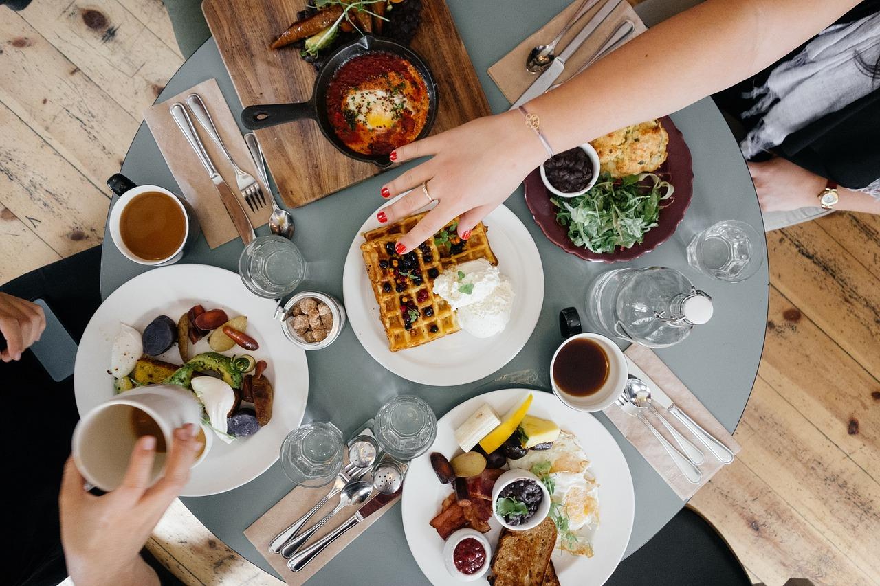 体の健康を支える食事の画像
